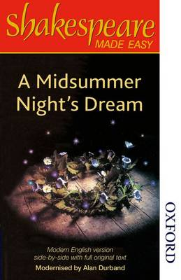 Shakespeare Made Easy: A Midsummer Night's Dream (Paperback)