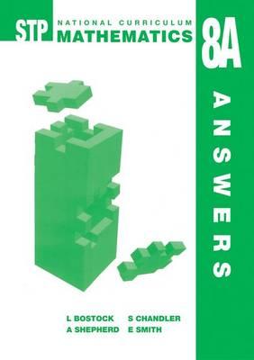 STP National Curriculum Mathematics 8A - Answer Book (Paperback)