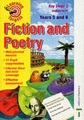 Learning Targets for Literacy Fiction and Poetry Years 5 and 6 Key Stage 2: Scotland P6-P7 (Paperback)