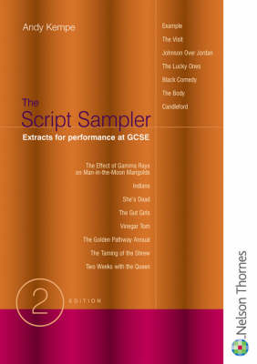 Script Sampler - Extracts for Performance at GCSE (Paperback)