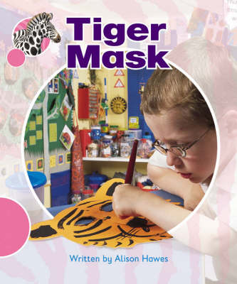 Spotty Zebra Pink A Ourselves - Tiger Mask