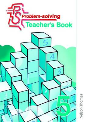 Can Do Problem Solving Year 5 Teacher's Book (Paperback)