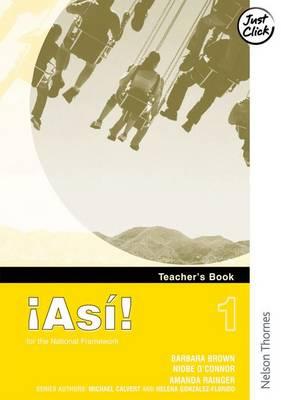!Asi! 1teacher's Book: 1 (Paperback)