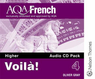Voila! 4 for AQA Higher Audio CD Pack (CD-Audio)
