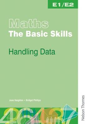 Maths the Basic Skills Handling Data Worksheet Pack E1/E2 (Paperback)