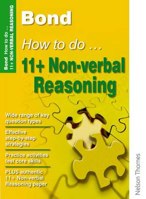 Bond How to Do 11+ Non-Verbal Reasoning (Paperback)
