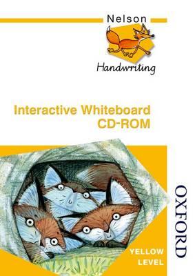 Nelson Handwriting Whiteboard CD ROM Yellow Level (CD-ROM)