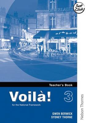 Voila! 3 Higher Teacher's Book (Paperback)
