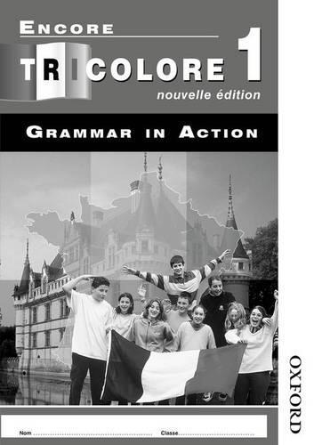 Encore Tricolore Nouvelle 1 Grammar in Action Workbook Pack (x8)