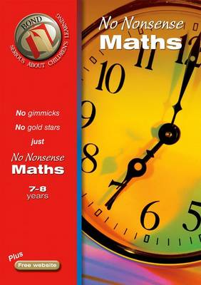 Bond No Nonsense Maths 7-8 Years (Paperback)
