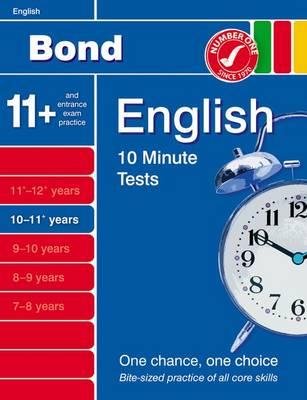 Bond 10 Minute Tests 10-11 Years: English (Paperback)