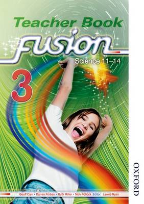 Fusion 3 Teacher's Book: Science 11-14 (Paperback)