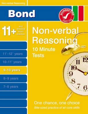 Bond 10 Minute Tests Non-Verbal Reasoning 9-10 Years (Paperback)