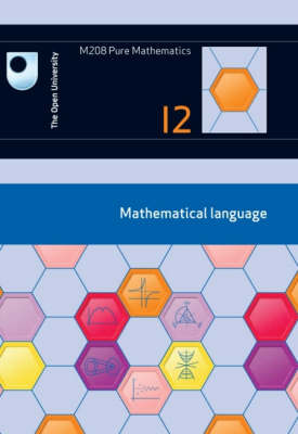 Mathematical Language: Unit 12 (Paperback)