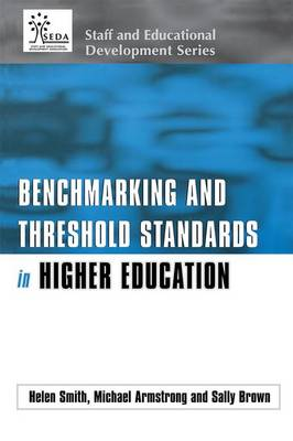Benchmarking and Threshold Standards in Higher Education - SEDA Series (Paperback)