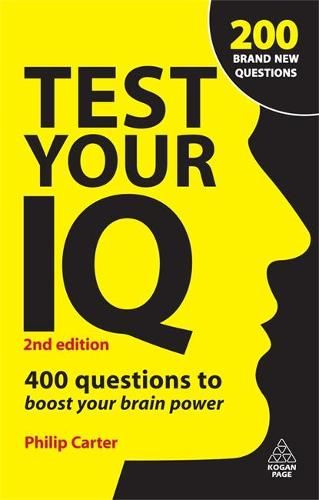 Test Your IQ: 400 Questions to Boost Your Brainpower (Paperback)