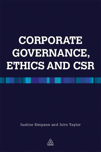 Corporate Governance Ethics and CSR (Paperback)