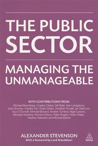 The Public Sector: Managing the Unmanageable (Hardback)