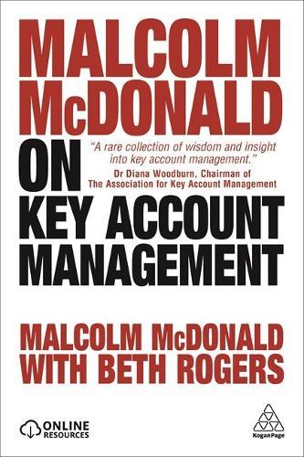 Malcolm McDonald on Key Account Management (Paperback)