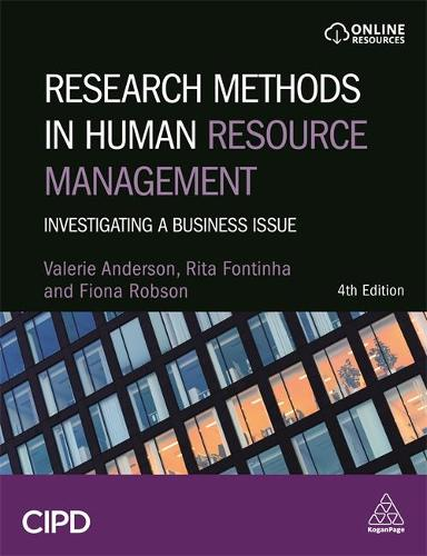 Research Methods in Human Resource Management: Investigating a Business Issue (Hardback)