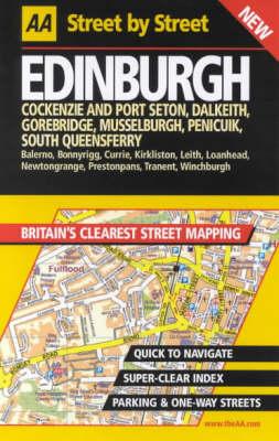 AA Street by Street Edinburgh - AA Street by Street (Spiral bound)