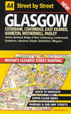 AA Street by Street Glasgow - AA Street by Street (Spiral bound)
