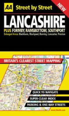 AA Street by Street Lancashire - AA Street by Street (Paperback)