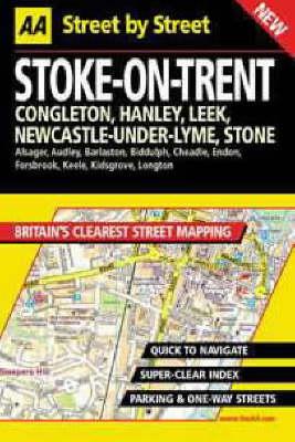 AA Street by Street Stoke-on-Trent - AA Street by Street (Paperback)