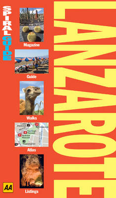 AA Spiral Guide Lanzarote - AA Spiral Guides (Paperback)