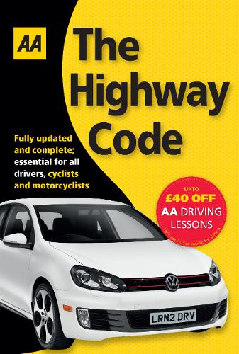 AA the Highway Code - AA Driving Test Series (Paperback)