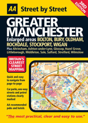 Greater Manchester: Maxi - AA Street by Street (Paperback)
