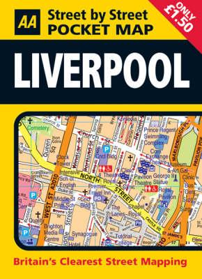 Pocket Map Liverpool - AA Street by Street (Sheet map, folded)