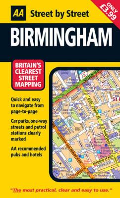 Birmingham: Mini - AA Street by Street (Paperback)