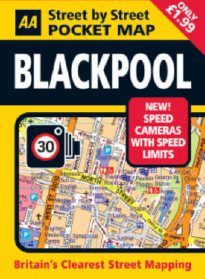 Blackpool Pocket Map - AA Street by Street (Sheet map, folded)