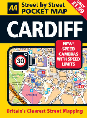 Cardiff Pocket Map - AA Street by Street (Sheet map, folded)