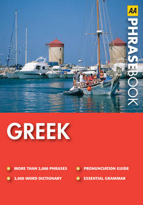 Greek - AA Phrase Book Series (Paperback)