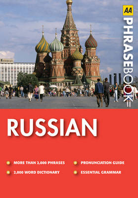 Russian - AA Phrase Book Series (Paperback)