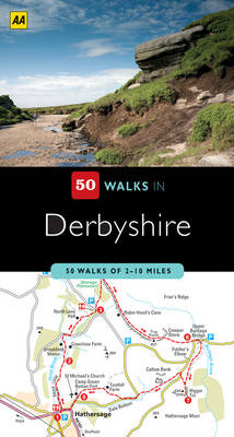Derbyshire - AA 50 Walks Series (Paperback)