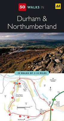 Durham and Northumberland - AA 50 Walks Series (Paperback)