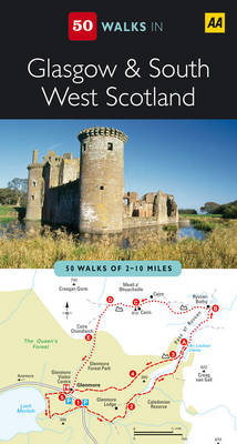 Glasgow and South West Scotland - AA 50 Walks Series (Paperback)