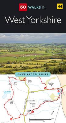 West Yorkshire - AA 50 Walks Series (Paperback)