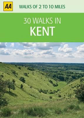 Kent - 30 Walks in (Sheet map)
