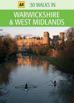 Warwickshire and West Midlands - AA 30 Walks in (Sheet map)