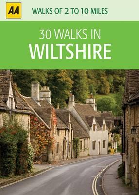 Wiltshire - AA 30 Walks in (Sheet map)