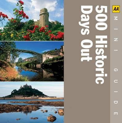 500 Historical Days Out - AA Mini Guides (Paperback)