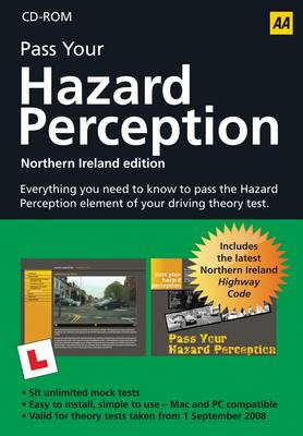 AA Hazard Perception CD-ROM - Northern Ireland (CD-ROM)