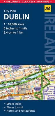 AA City Plan Dublin (Sheet map, folded)