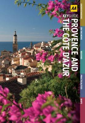 Provence and Cote D'Azur - AA Key Guides (Paperback)