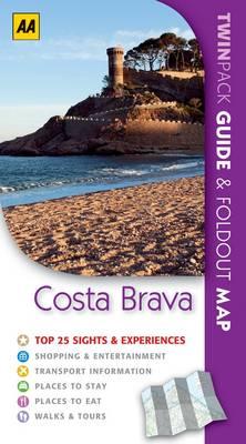Costa Brava: AA Twinpacks (Paperback)
