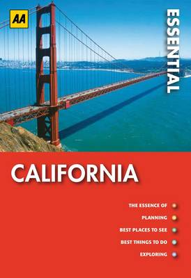 California: AA Essential Guides (Paperback)